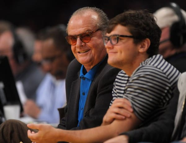 Jack Nicholson Attends the Game Between the New Orleans Hornets and the Los Angeles Lakers on March 27, 2011 at the Staples Center in Los Angeles, California.