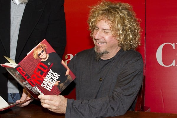Sammy Hagar's 'Red: My Uncensored Life in Rock' Book Signing at Chapters Festival Hall in Toronto on March 13, 2011