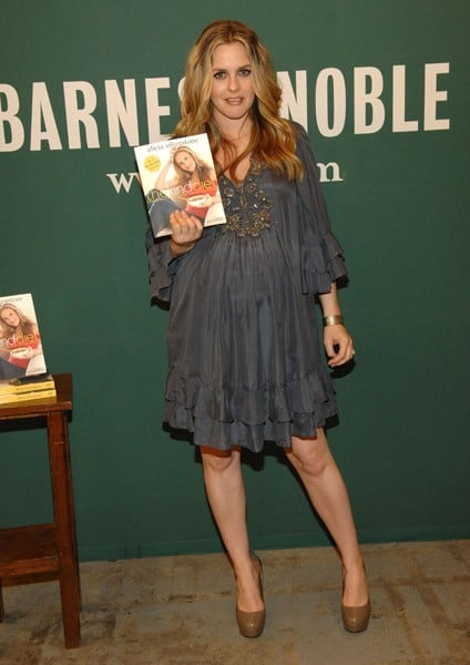 Alicia Silverstone Signs Copies of Her Book 'Alicia Silverstone: The Kind Diet' at Barnes & Noble Bookstore at The Grove on March 15, 2011 in Los Angeles, California.