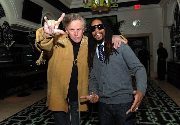 Gary Busey, Hope Dworaczyk and Lil Jon at the celebration of the season premiere of 'The Celebrity Apprentice' on March 5, 2011 in Las Vegas, Nevada