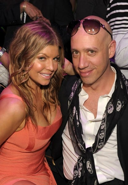 Fergie celebrates her birthday at The Bank at Bellagio Las Vegas on March 25, 2011 in Las Vegas, Nevada.