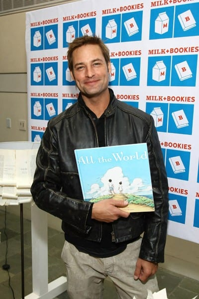 Josh Holloway attends the Milk + Bookies Second Annual Reading Room Sponsored By Children's Book Of The Month Club at Skirball Cultural Center on March 20, 2011 in Los Angeles, California.