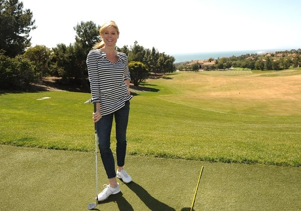 Actress Julie Bowen enjoys vacation at Pelican Hill on March 25, 2011 in Newport Beach, California.