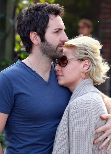 Josh Kelley and Katherine Heigl are seen having lunch at the Alcove Cafe on March 12, 2011 in Los Angeles, California.