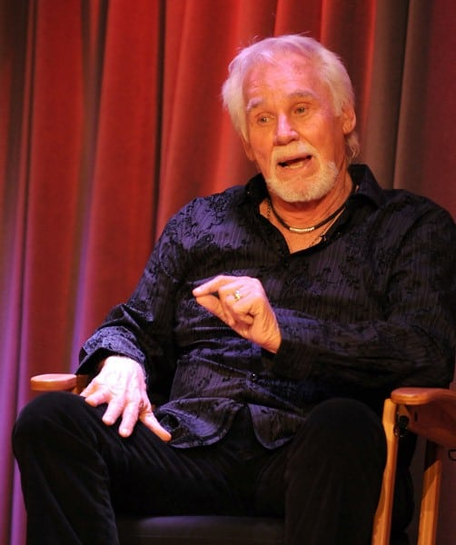 Singer Kenny Rogers during 'An Evening With Kenny Rogers' at The GRAMMY Museum on March 28, 2011 in Los Angeles, California.