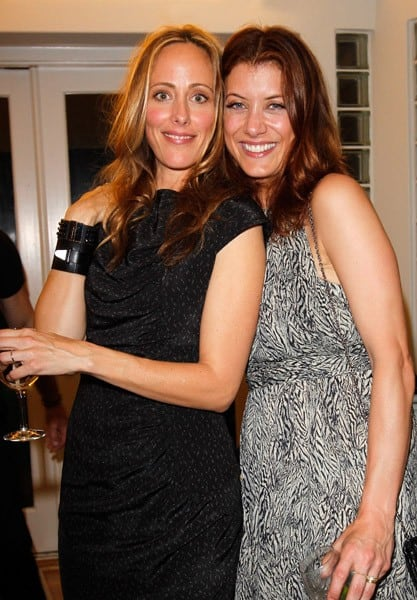 Actors Kim Raver and Kate Walsh attend Sunset Cocktails Presented By Leifsdottir on March 12, 2011 in Sherman Oaks, California.