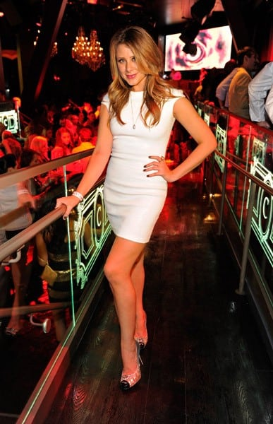 Television personality Lauren Bosworth celebrates the launch of her new book at Chateau Nightclub & Gardens at Paris Las Vegas on March 18, 2011 in Las Vegas, Nevada.