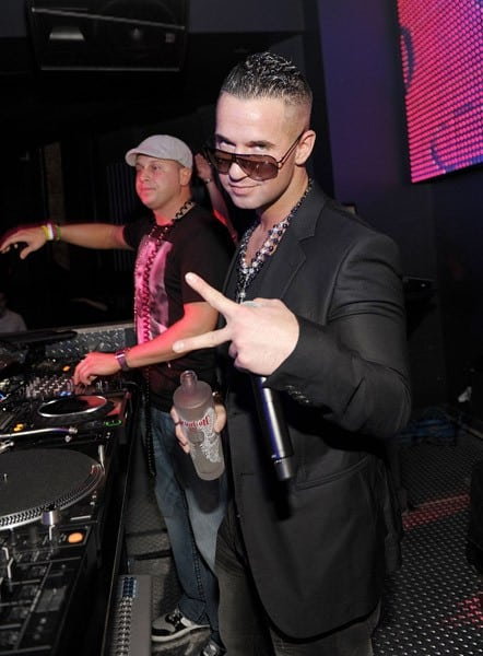 Mike 'The Situation' Sorrentino hosts at Chateau Nightclub & Gardens on March 11, 2011 in Las Vegas, Nevada.