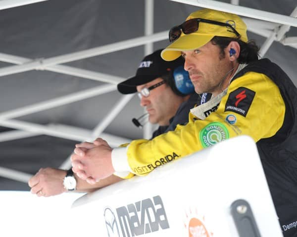 Patrick Dempsey is seen at the Homestead-Miami Speedway on March 4, 2011 in Homestead, Florida.