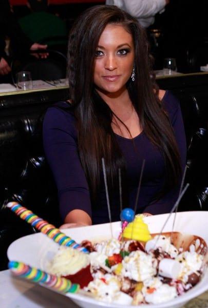 Sammi 'Sweetheart' Giancola is seen at Sugar Factory At Paris Las Vegas on March 12, 2011 in Las Vegas, Nevada.