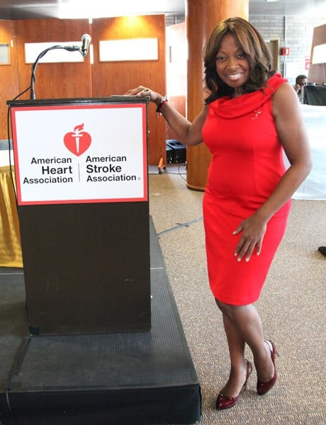 Star Jones attends the GO RED For Harlem-American Heart Association Educational Forum & Luncheon at City College-Harlem on March 27, 2011 in New York City.