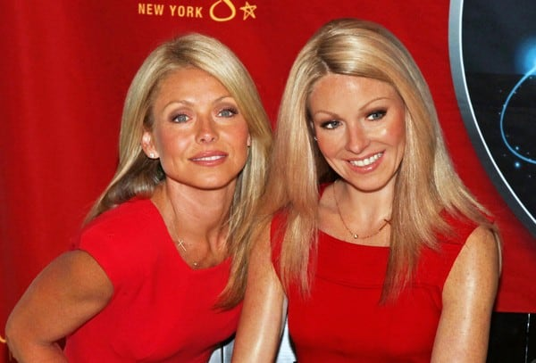 Kelly Ripa Unveils Her Wax Figure at Madame Tussauds in New York City on April 5, 2011