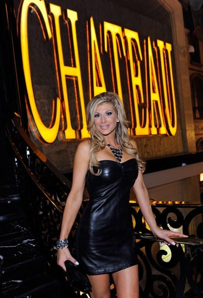 Television personality Alexis Bellino attends the Chateau Nightclub & Gardens at the Paris Las Vegas on April 15, 2011 in Las Vegas, Nevada.