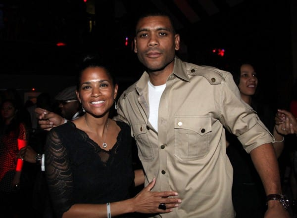 NY Knicks Legend Allan Houston attends his birthday party at Providence on April 8, 2011 in New York City.