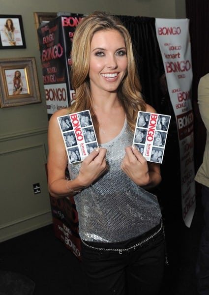 Audrina Patridge attends the Audrina Patridge Party For Bongo Jeans at The Redbury Hotel on April 13, 2011 in Hollywood, California.