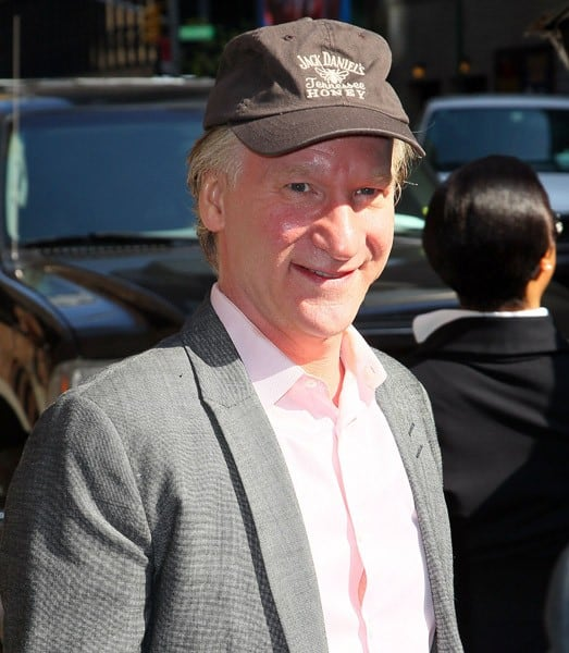 Actor Bill Maher visits 'Late Show With David Letterman' at the Ed Sullivan Theater on April 25, 2011 in New York City.