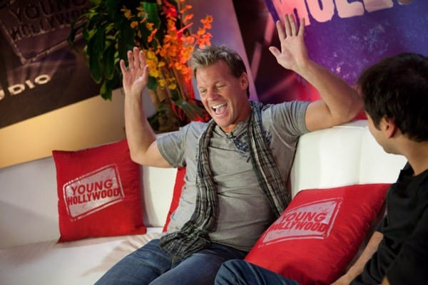Pro Wrestler Chris Jericho visits YoungHollywood.com at the Young Hollywood Studio on April 27, 2011 in Los Angeles, California.