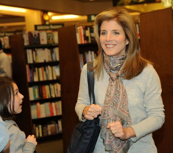 Caroline Kennedy signs copies of 'She Walks in Beauty: A Woman's Journey Through Poems' at Barnes & Noble, Market Fair on April 6, 2011 in Princeton, New Jersey.