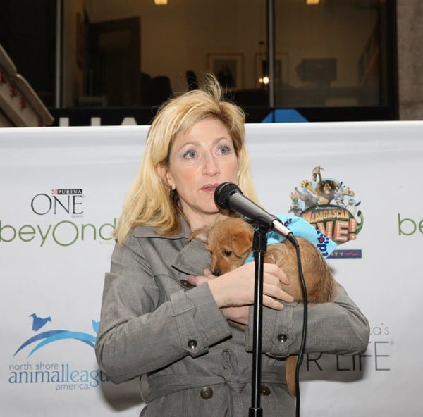 Actress Edie Falco attends the 2011 North Shore Animal League America Tour For Life at Radio City Music Hall on April 20, 2011 in New York City.