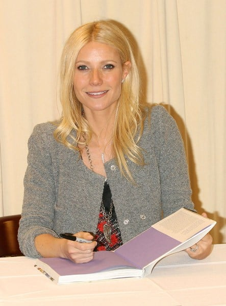 Gwyneth Paltrow promotes her new book 'My Father's Daughter: Delicious, Easy Recipes Celebrating Family And Togetherness' at Barnes & Noble, 5th Avenue on April 14, 2011 in New York City.