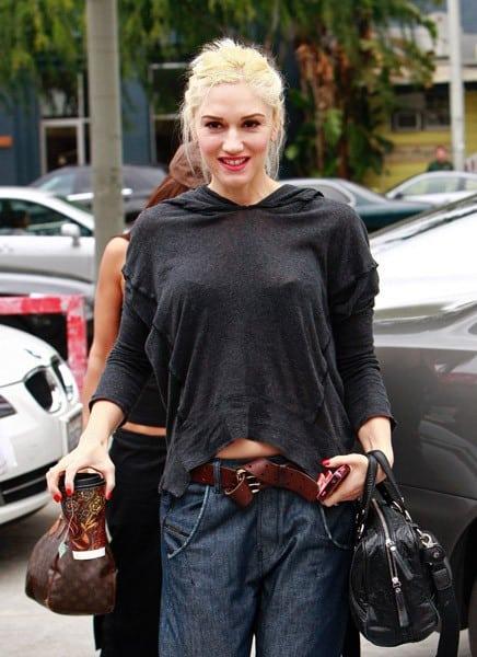 Gwen Stefani is seen on April 2, 2011 in Los Angeles, California.