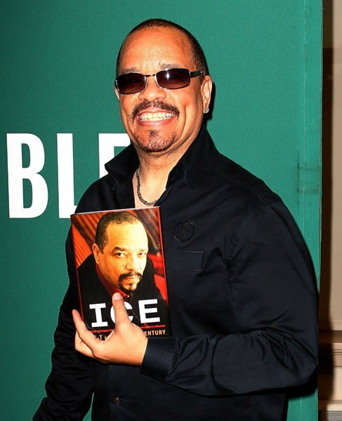 Actor/Author Ice-T promotes his new book 'Ice: A Memoir of Gangster Life and Redemption from South Central to Hollywood' at Barnes & Noble Union Square on April 26, 2011 in New York City.