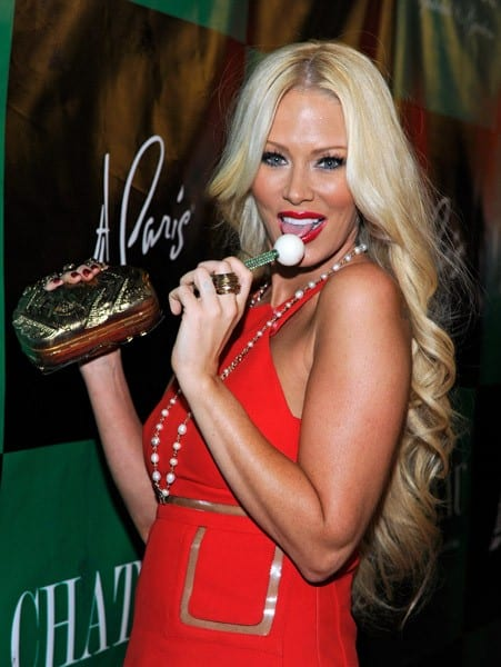 Former adult film actress Jenna Jameson attends her birthday celebration at the Chateau Nightclub & Gardens at the Paris Las Vegas on April 9, 2011 in Las Vegas, Nevada.