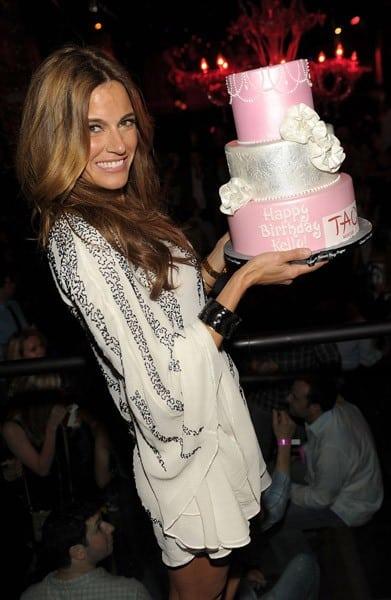 Kelly Bensimon celebrates her birthday at TAO Nightclub at the Venetian on April 28, 2011 in Las Vegas, Nevada.