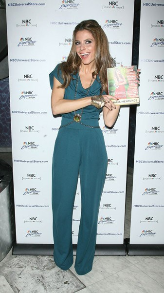 Maria Menounos promotes her new book 'The Everygirl's Guide to Life' at the NBC Experience Store on April 13, 2011 in New York City.