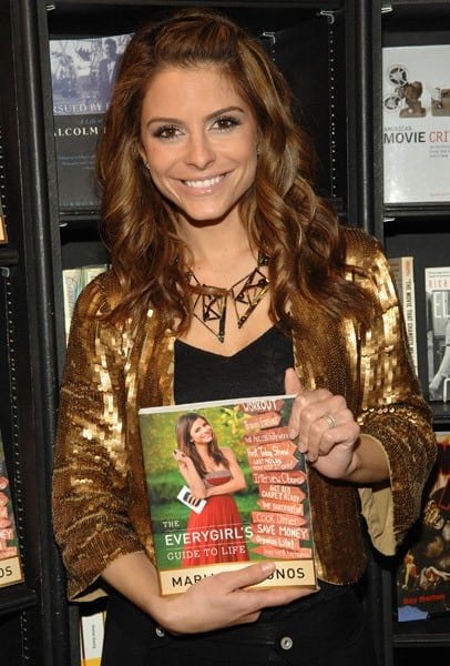 Maria Menounos signs copies of her book 'Everygirl's Guide to Life' at Book Soup on April 22, 2011 in West Hollywood, California.