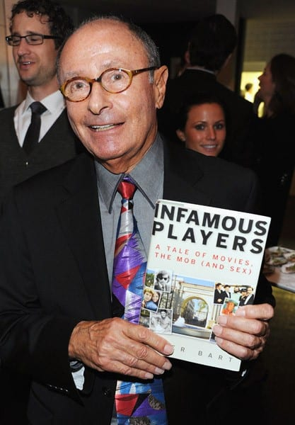 Author Peter Bart attends the book launch for his 'Infamous Players' hosted by The Weinstein Company at Desmond's on April 25, 2011 in New York City.
