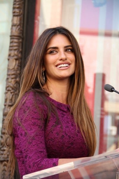 Penelope Cruz is Honored with a Star on The Hollywood Walk of Fame on April 1, 2011 in Hollywood, California.