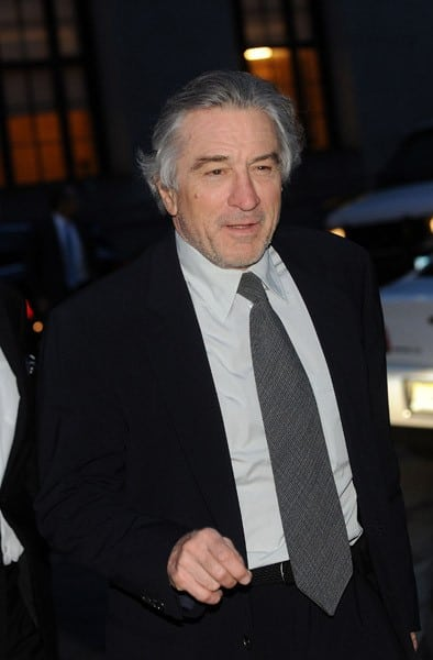 Robert De Niro seen at the Vanity Fair party at the State Supreme Courthouse on April 27, 2011 in New York City.