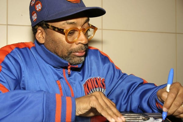 Spike Lee promotes the new DVD 'If God is Willing and Da Creek Don't Rise' at Barnes & Noble Union Square on April 20, 2011 in New York City.