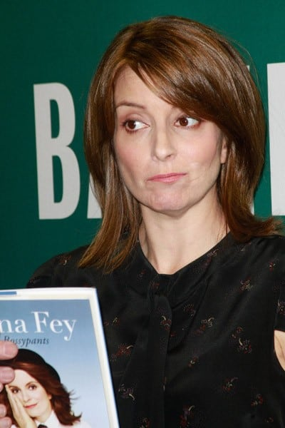 Actress Tina Fey promotes her new book 'Bossypants' at Barnes & Noble Union Square on April 8, 2011 in New York City.