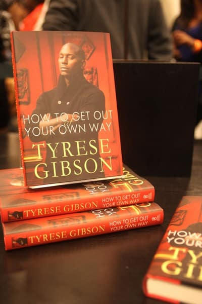 tyrese gibson promotes new book