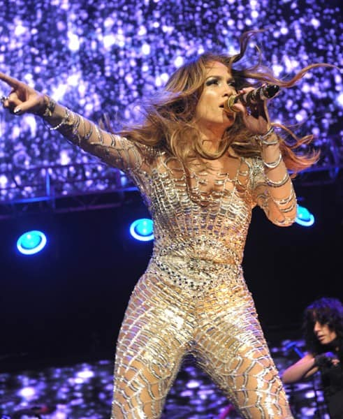 Jennifer Lopez performs at KIIS FM's 2011 Wango Tango Concert at Staples Center on May 14, 2011 in Los Angeles, California.