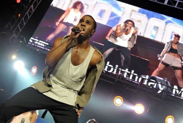 Jason Derulo performs at KIIS FM's 2011 Wango Tango Concert at Staples Center on May 14, 2011 in Los Angeles, California.