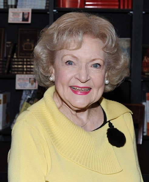 Actress Betty White signs copies of her new book 'If You Ask Me (And Of Course You Won't)' at Book Soup on May 15, 2011 in West Hollywood, California.
