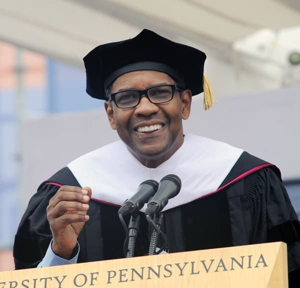 Denzel Washington attends the University of Pennsylvania's 2011 Commencement at University of Pennsylvania on May 16, 2011 in Philadelphia, Pennsylvania.