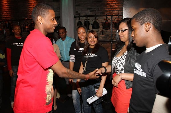 Fabolous attends a 'fuse Rocks the Classroom' taping at fuse Studios on May 10, 2011 in New York City.
