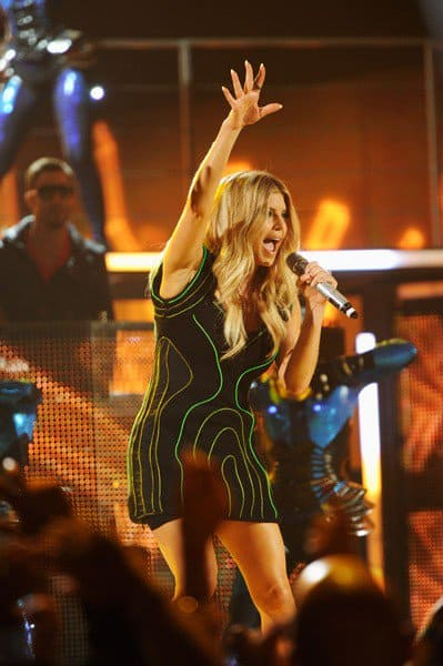 Singer Fergie performs onstage during the 2011 Billboard Music Awards at the MGM Grand Garden Arena May 22, 2011 in Las Vegas, Nevada.