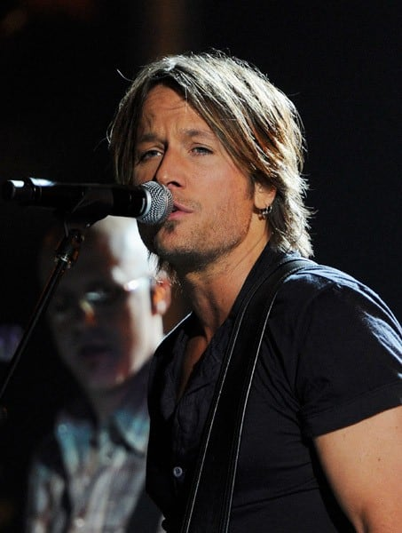 Singer Keith Urban performs onstage during the 2011 Billboard Music Awards at the MGM Grand Garden Arena May 22, 2011 in Las Vegas, Nevada.
