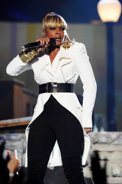 Singer Mary J. Blige performs onstage during the 2011 Billboard Music Awards at the MGM Grand Garden Arena May 22, 2011 in Las Vegas, Nevada.