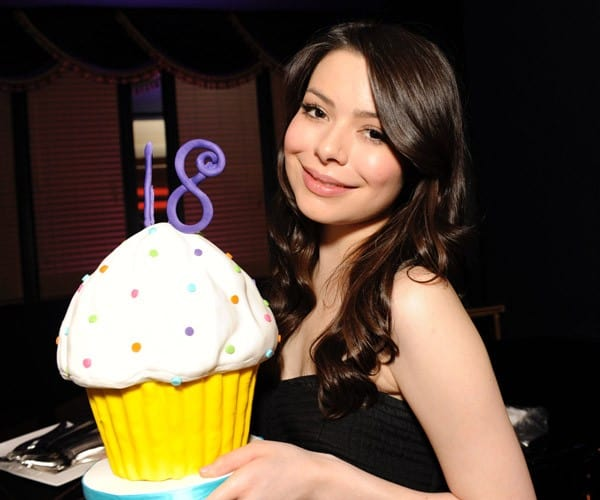 Miranda Cosgrove celebrates her 18th birthday at a fundraising benefit for St. Jude Childrens Research Hospital at Peabody Hotel on May 14, 2011 in Memphis, Tennessee.