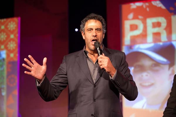 Brad Garrett performs at the Juvenile Diabetes Research Foundation's 8th Annual Gala 'Finding a Cure: A Love Story' at The Beverly Hilton hotel on May 5, 2011 in Beverly Hills, California.