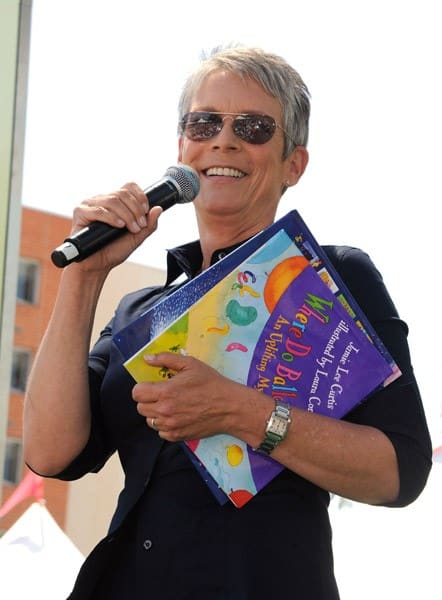 Jamie Lee Curtis Attends Day #1 of the 16th Annual Los Angeles Times Festival of Books held at USC on April 30, 2011 in Los Angeles, California.
