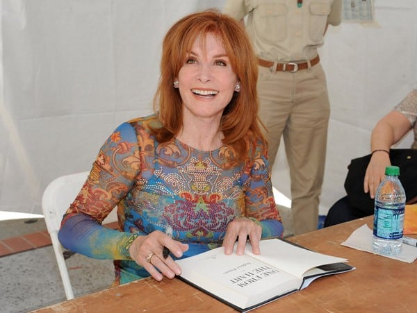 Stephanie Powers Attends Day #1 of the 16th Annual Los Angeles Times Festival of Books held at USC on April 30, 2011 in Los Angeles, California.