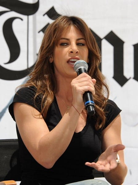 Jillian Michaels Attends Day #1 of the 16th Annual Los Angeles Times Festival of Books held at USC on April 30, 2011 in Los Angeles, California.