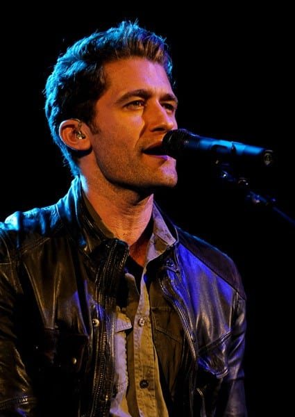 Matthew Morrison performs at Starburst Presents The VH1 Save The Music Foundation's Songwriter Music Series at the Hard Rock Cafe - Times Square on May 16, 2011 in New York City.
